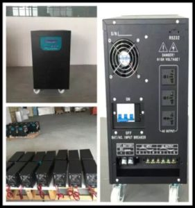 off Grid Pure Sine Wave Inverter / DC to AC Inverter with AC Charge for Home / Solar /Wind System pictures & photos