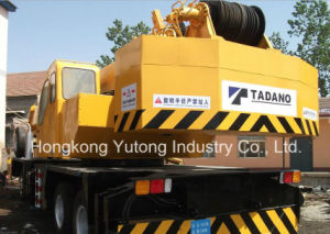 Used Second-Hand Tadano Truck Cranes /Mobile Cranes Tg-650e