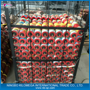 Conveyor Steel Roller Red Color pictures & photos
