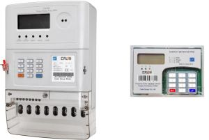 Three Phase Sts Split Keypad Prepaid Energy Meter (2-wires Communication) pictures & photos