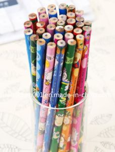 "7"" Film Printing Wooden Pencil, Sky-019 pictures & photos"