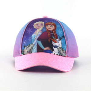 Fashion Sublimation Print Baby Caps with Shinning Brim pictures & photos