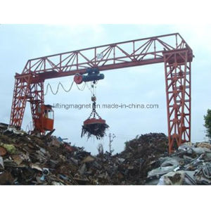 China Leading Manufacturer of Electro Crane Lifting Magnet for Scraps pictures & photos