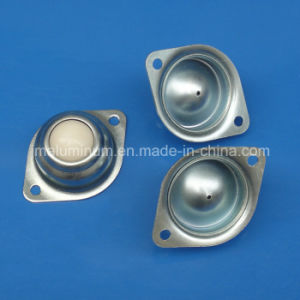 2 Hole Mounted Flange Ball Transfer Units Nylon Universal Ball Conveyor Roller pictures & photos