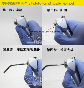 High Quality Dental Three Way Syringe pictures & photos