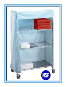 NSF Easliy Clean Metal Fabric Wardrobe for Hospital pictures & photos