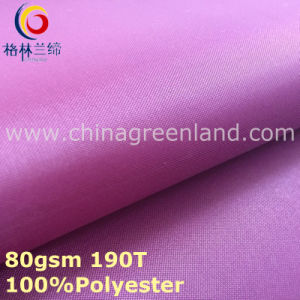 Polyester Taffeta Pongee Plain Fabric for Lining Bag (GLLML296) pictures & photos