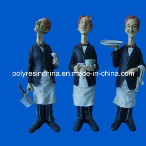 Polyresin Chef Statue for Kitchen Decoration pictures & photos