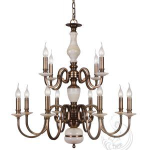 Chandelier with Marble, Golden Iron Pendant Lighting Fixture (SL2260-6) pictures & photos