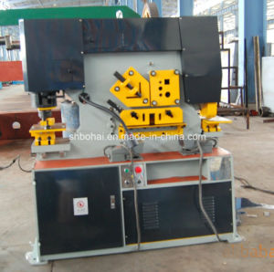 115ton Hydraulic Iron Workers with 25mm Thickness Cutting pictures & photos