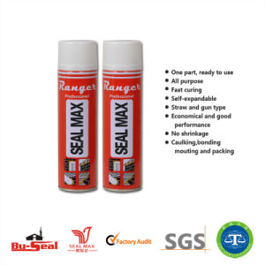 Yellow Foam Insulation Polyurethane Spray