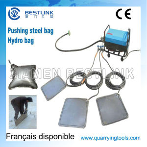 Steel/Hydro Pushing Bag for Stone Quarry Block pictures & photos
