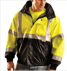Reflective Safety Casual Coat with Pocket pictures & photos