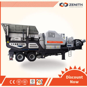 High Technical and Large Capacity Trailer Stone Mobile Crusher pictures & photos