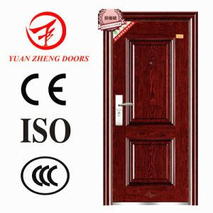 Cheap Steel Security Door Design in Wuyi pictures & photos