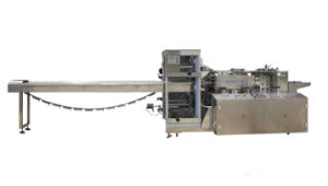 Horizontal Four Side Sealing Automatic Packaging Machine for Cooling Gel Sheet pictures & photos