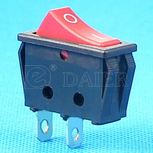 Red Button on/off Rocker Switch T125 55 pictures & photos