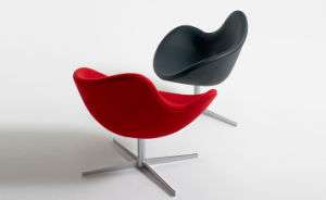 Rotary Modern Armrest Leisure Coffee Bar Chair pictures & photos