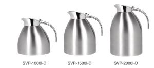Sanding Polish Double Wall Vacuum Insulated Stainless Steel Coffee Jug Svp-1500I-D pictures & photos
