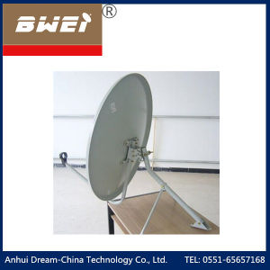 Steel Plate Solid Ku Band Satellite Dish TV Antenna pictures & photos