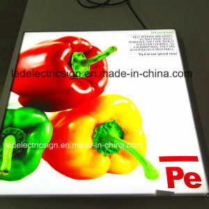 Menu Board with Light Guide Panel for Advertising Display pictures & photos