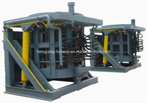 Hydraulic Steel Shell Melting Furnace pictures & photos