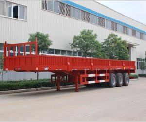3 Axles Side Wall Semi Trailer Factory pictures & photos