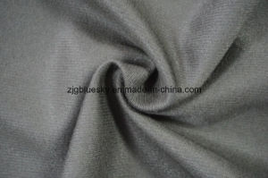 Wool Fabric Satin Weave for Suit with Viscose pictures & photos
