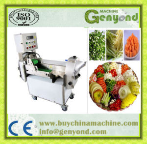 Multi-Functional Stainless Steel Commercial Vegetable Cutting Machine pictures & photos