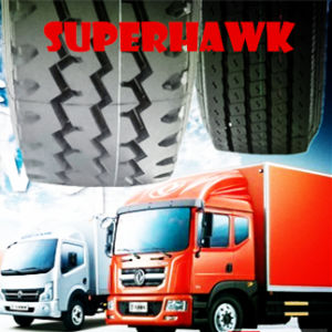 Superhawk TBR Tyres Radial Lorry Tyre Light Truck Tyre (7.00r16 7.50r16 6.50r16) pictures & photos