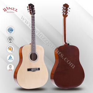 """[Winzz] Wholesale 41"""" Spruce Plywood Maple Finerboard Acoustic Guitar (AF29H) pictures & photos"""