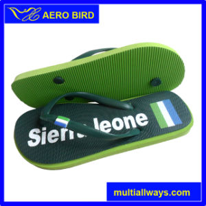 Most Popular Printing Design Slippers (T1503-Green) pictures & photos