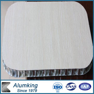 Wood Color Aluminum Honeycomb Panel / Honeycomb Board pictures & photos