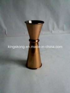 Plated Copper 30/50 Ml Cocktail Measuring Jug Wholesale pictures & photos