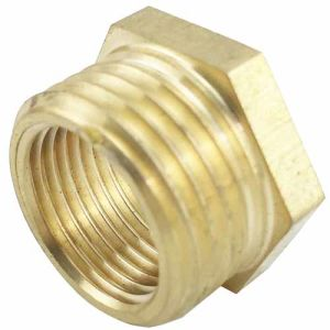 CNC Machining of Copper Screw Nut pictures & photos