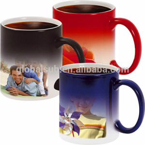 Modern Coffee Cups Sublimation Changing Color Mug