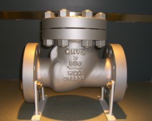 API 6D Carbon Steel/ Cast Iron/ Stainless Steel Swing Check Valve
