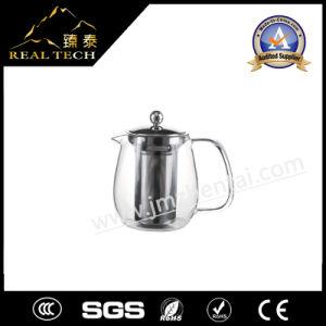 Hot Sale Glass Metal Tea Maker Tea Pot