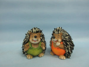 Hedgehog Shape Ceramic Crafts (LOE2537-C7.5) pictures & photos