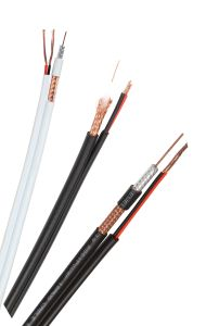RG6 Siamese Cable CCS RG6+2DC Power Cable pictures & photos