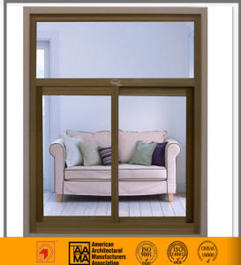 China Heat Insulation Aluminum Glass Sliding Window pictures & photos