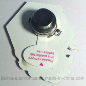 Flashing LED Magnet Pins with Logo Print (3161) pictures & photos