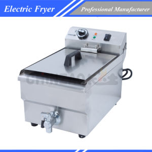 Commercial 10L Single Tank Electric Fryer pictures & photos