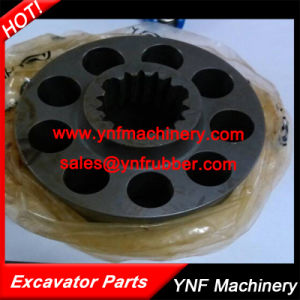Hydraulic Pump Spare Parts Cylinder Block for Komatsu PC56-7 pictures & photos