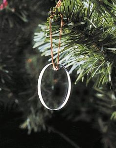 Christmas Tree Hanging Crystal Glass Pendant Ornament pictures & photos