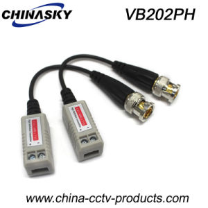 One Channel CCTV Passive HD-Cvi/Tvi/Ahd Video Balun (VB202pH) pictures & photos