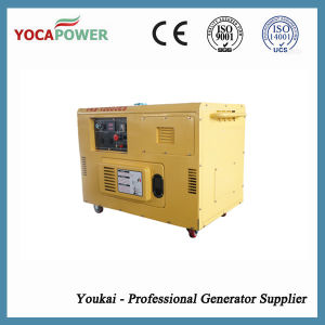 8kVA Single Phase Silent Diesel Engine Power Diesel Generator Set pictures & photos