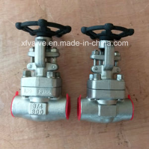 API6d Forged Stainless Steel F304 F304L Thread End Gate Valve