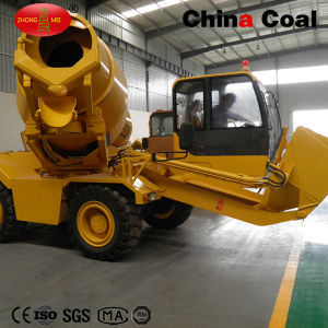 High-Speed Self Loading Concrete Mixer Truck pictures & photos