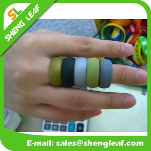 Promotional Items Silicone Rubber Finger Ring (SLF-SR026) pictures & photos